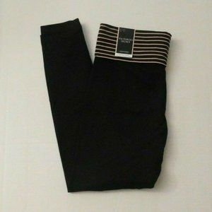 NWT Victoria's Secret Fold Waist Leggings Tights